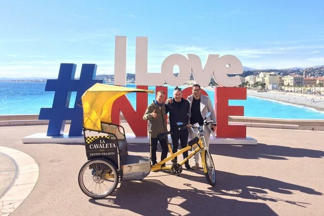 One Hour Nice Highlights Pedicab Tour