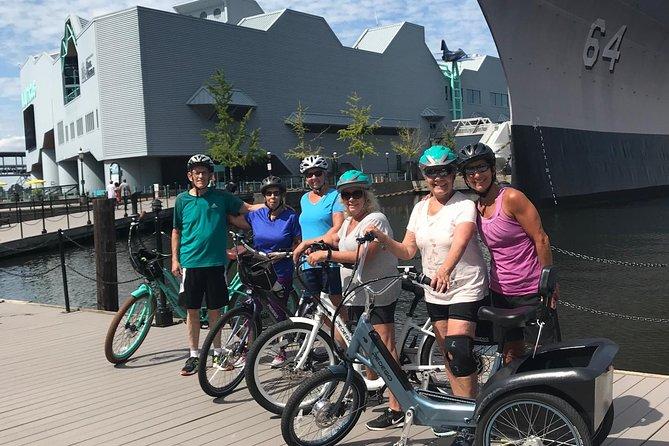 Electric Bike Rental Downtown Norfolk (self guided tour)