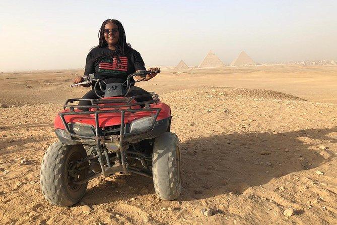 Private Safari:Quad Bike & Camel Ride Sunrise/Sunset Tour or any requested time