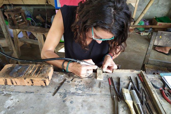 Silver jewelry making class in Gianyar