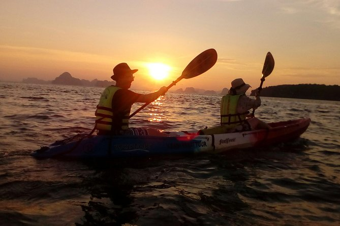 Krabi kayak at Ao Thalane