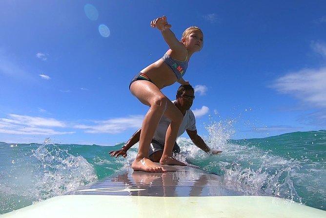 Waikiki 1 Hour Tandem Surf lesson