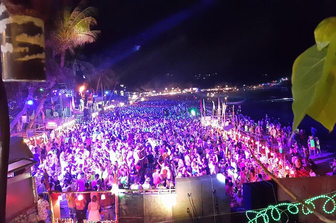 Koh Phangan Full Moon Party with Return Transfer