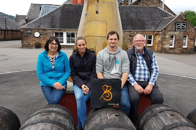 Craigs 4 day Highland Whisky Tour from Glasgow - Inclusive of up to 6 Persons