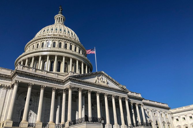Capitol Hill Guided Walking Tour with Entry to US Capitol, Supreme Court & More