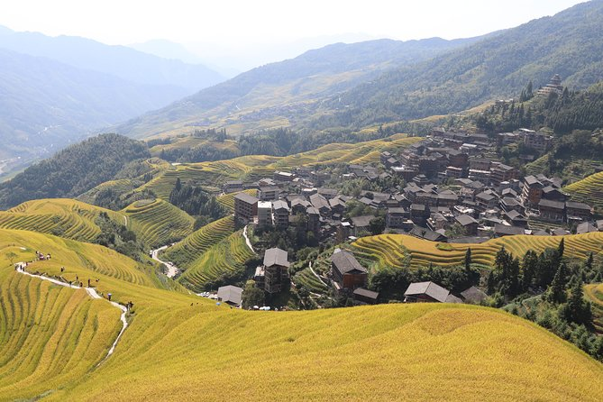 Day Trip to Longji Rice Terraces and Minority Village from Guilin with Lunch