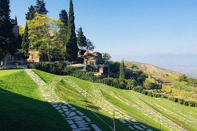 Kakheti (Sighnagi, Bodbe castle, winery)