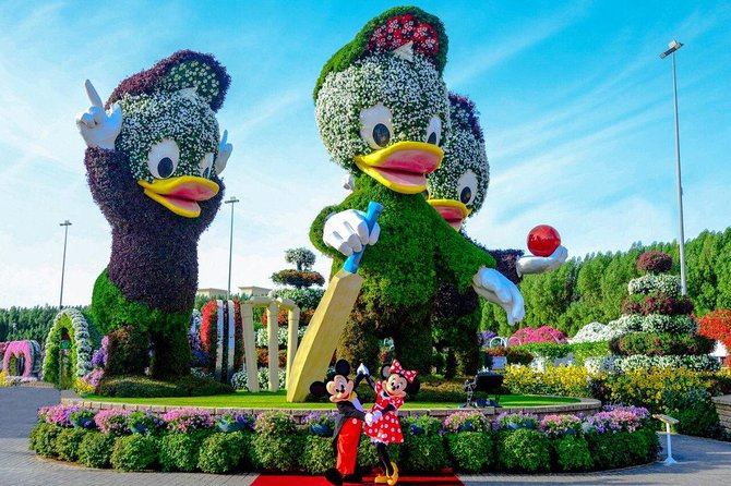 Miracle Garden+Global Village Tickets with Sharing Transfers