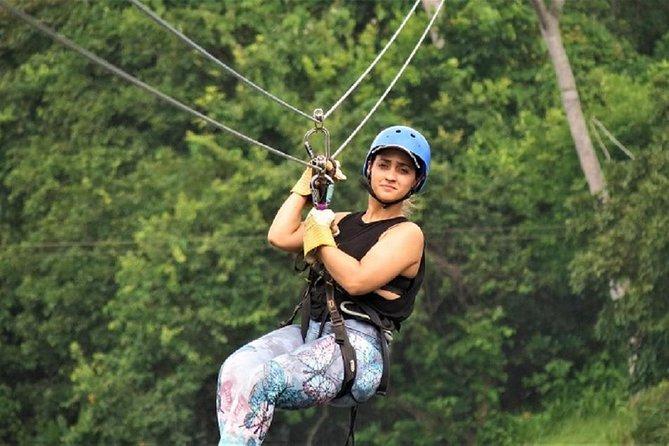 Zipline Adventure In The Rainforest
