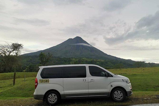 Transfer SJO Airport Costa Rica to La Fortuna, Arenal Volcano