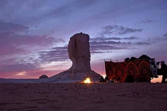 Desert Camping With The Bedouins Under The Stars - White & Black Deserts