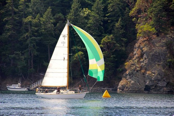 Private Three-hour day sailing tour in the San Juan Islands, from Orcas Island