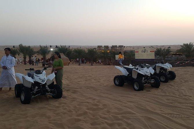 Evening Desert Safari with Quad Bikes