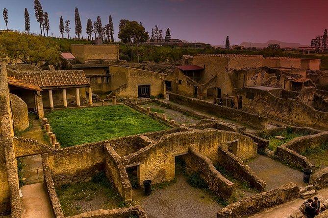 Pompeii and Herculaneum group tour from Amalfi Coast