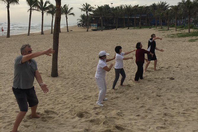 Chen Tai Chi, morning practice on the beach