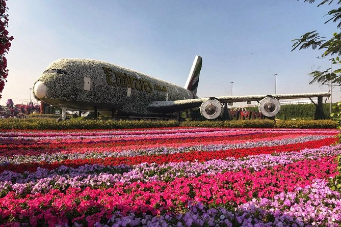Dubai Miracle Garden Ticket with Transfer