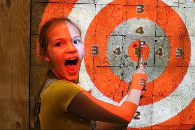Axe Throwing 60 minutes
