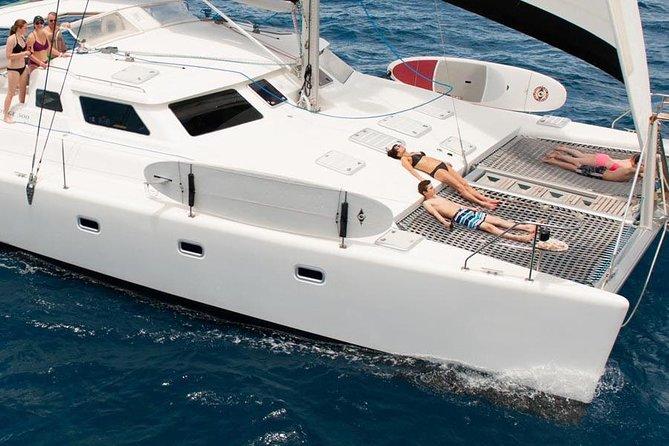 St John 50' Yacht Snorkel, Sail, Beach Experience including Margaritaville