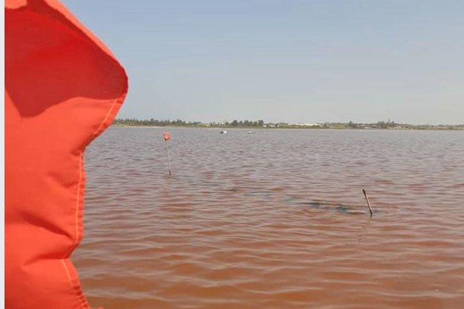 The iconic , Lake Retba (The pink Lake)