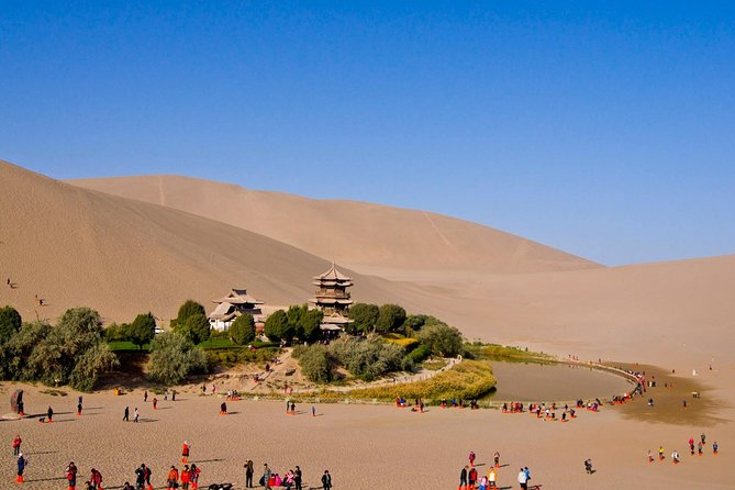 3-Day Silk Road Trip to Dunhuang, Mogao Caves, Crescent Lake, Yumenguan Pass