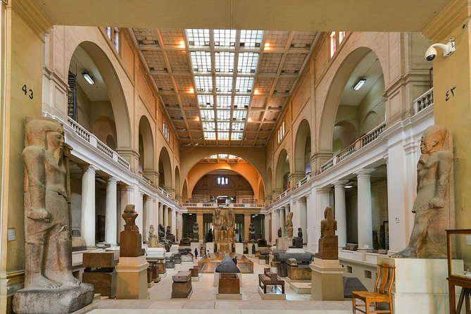 Egyptian Museum guided private half day tour