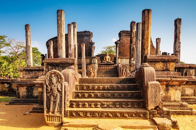 Day Tour to Dambulla Cave Temple & Polonnaruwa Ancient City From Negombo.