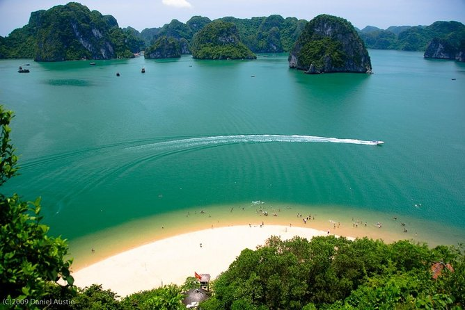 6 Hours Halong Bay Cruise On Titop Island & Swimming -go By New Highway