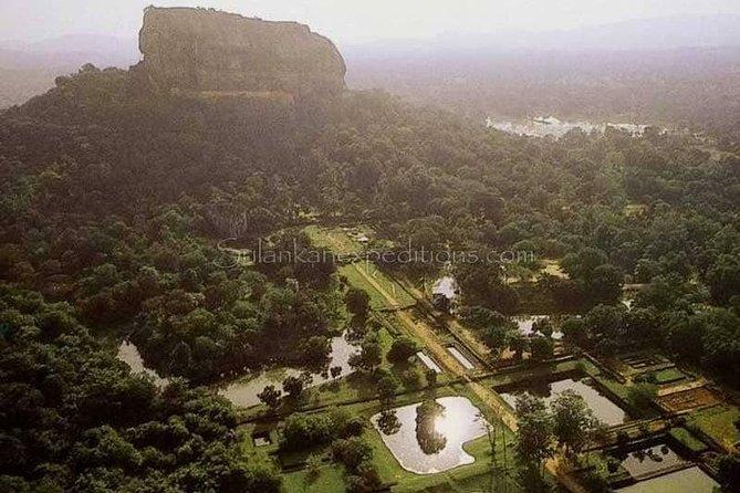Sigiri Rock or Pidurangala Rock and National Park