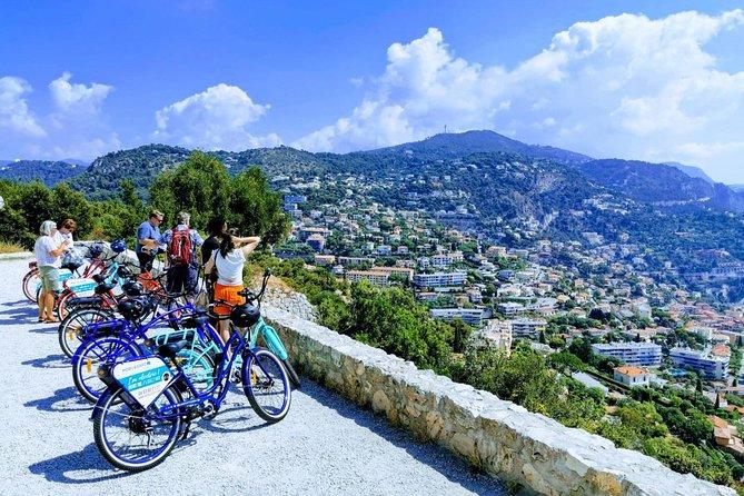 French Riviera E-bike Panoramic Tour from Nice
