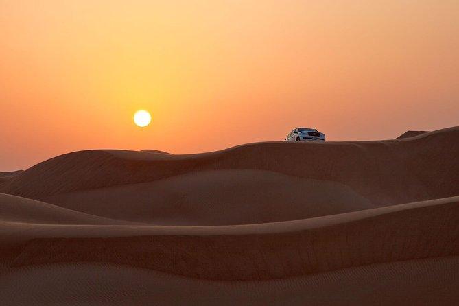 Red Dune Desert Safari with 30min ATV Quad Bike, Live Show, Camel Ride & Dinner