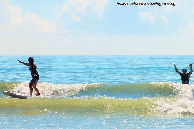 One Hour Surf Lesson with Experienced Instructor