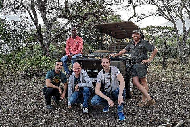 Durban: Go on Safari at 2 Game Reserves (Hluhluwe-Imfolozi) Pro Zeiss Binoculars