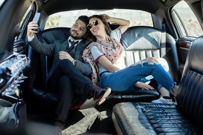 NYC Airport Private Luxury Arrival Transfer via Stretch Limousine, Sedan or Van