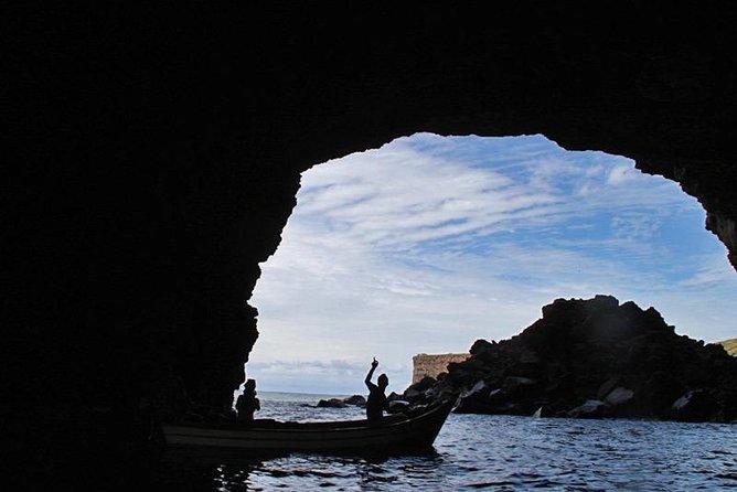 "Adventure in a natural cave in "" Grutas das Águas Belas"" - Ribeira das Pratas."