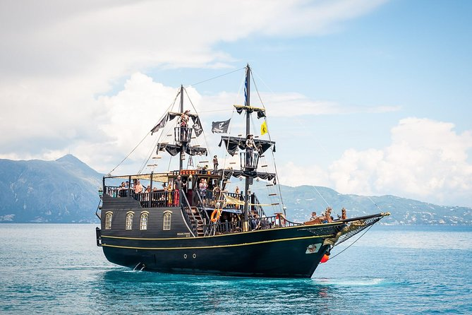 Black Rose Pirate Ship Tour of Corfu