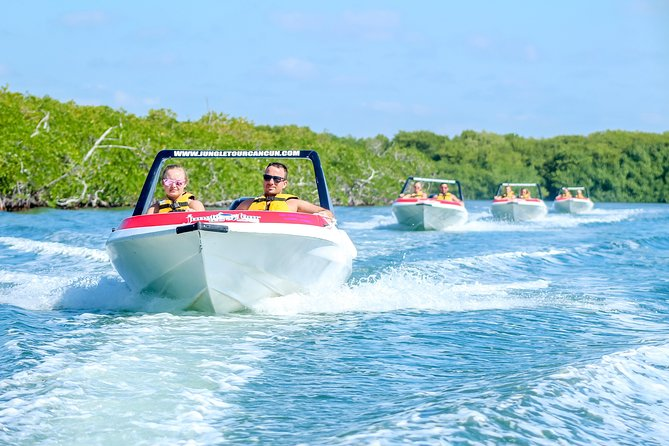 Jungle Tour Adventure: Speed Boat and Snorkeling in Cancun