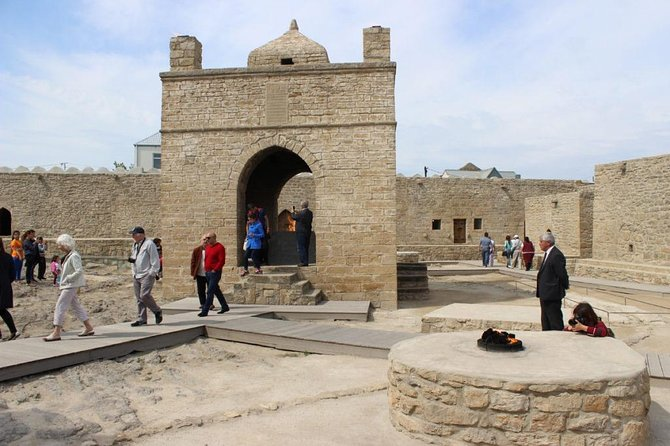 Around Baku Full day Group tour: Gobustan, Mud Volcanoes & Trails of fire
