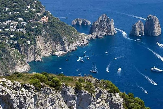 Capri and Blue Grotto Private Tour from Naples or Sorrento