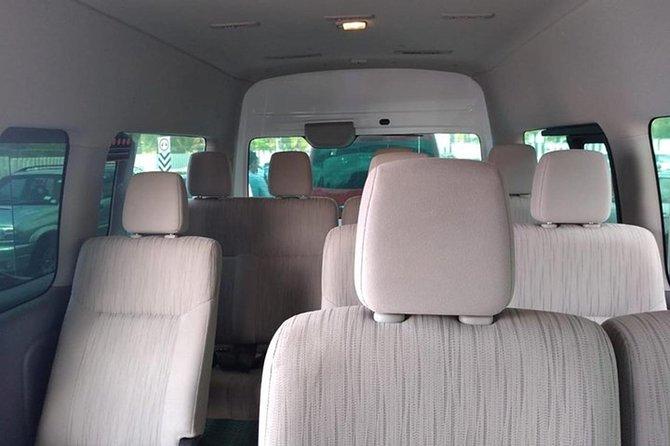 Traslado privado de ida y vuelta VAN- Aeropuerto-Hotel-Aeropuerto -Hoteles Tulum