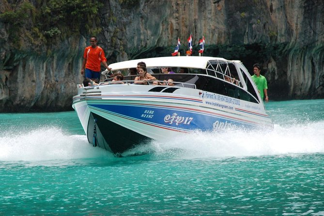 Private Speed Boat Tour to Phi Phi & Khai Island from Phuket