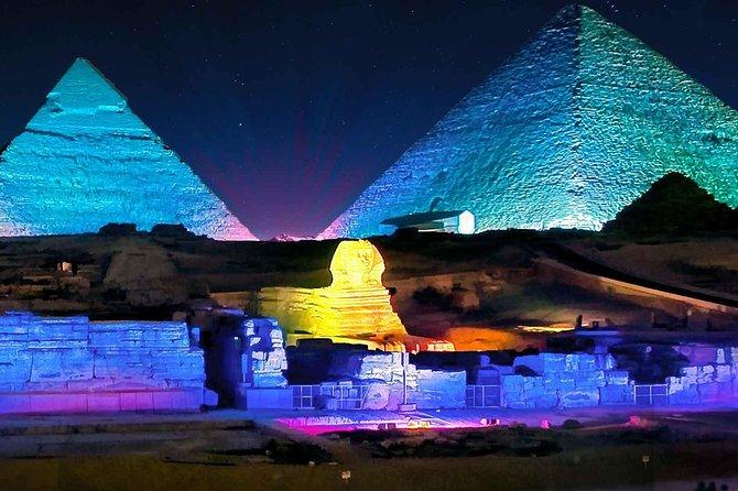 Pyramids Sound & Light Show + Fine Dining