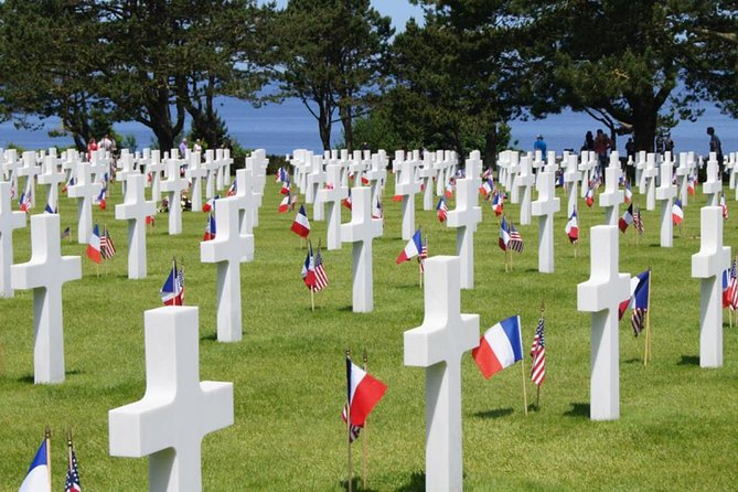 """Full Day Tour Focus on US DDAY sites from Bayeux """"2nd departure"""""""