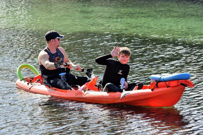 Full Day Tandem Kayak Rental For Two People In Crystal River, Florida