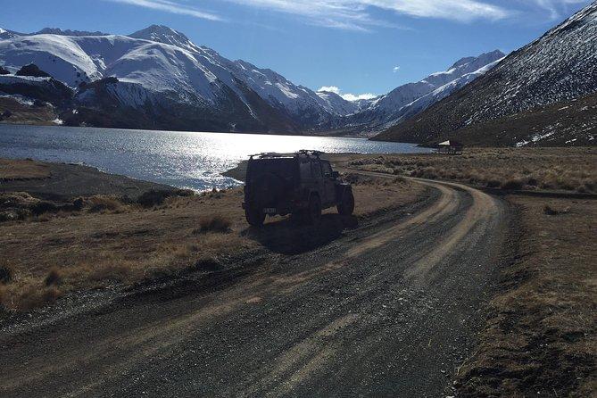 Jeep trip to Lake Tennyson