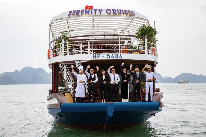 Serenity Day Cruise- Luxury Day Tour into Ha Long Bay-Lan Ha Bay (Buffet Lunch)