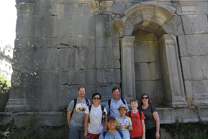 Termessos tour with local Arcaeologist