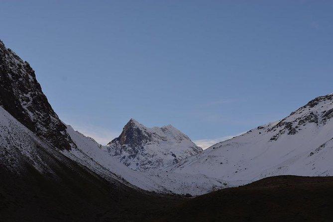 Trekking to El Morado Glacier - Cajón del Maipo - Cordillera de Los Andes - STGO