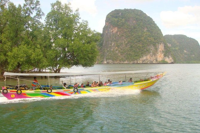 James Bond island & Phang Nga Bay tour by private long tail boat