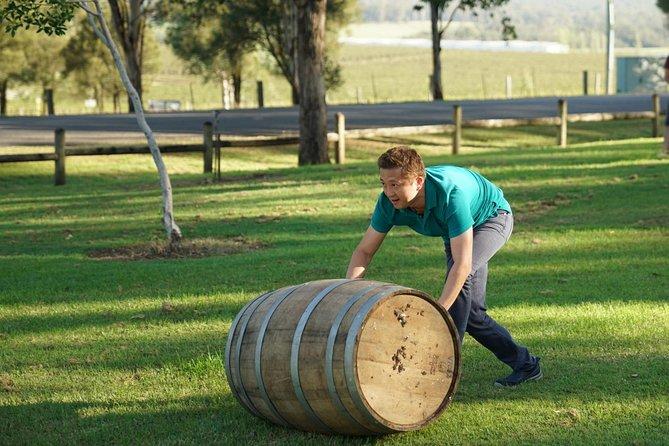 Hunter Valley Wine Barrel Rolling
