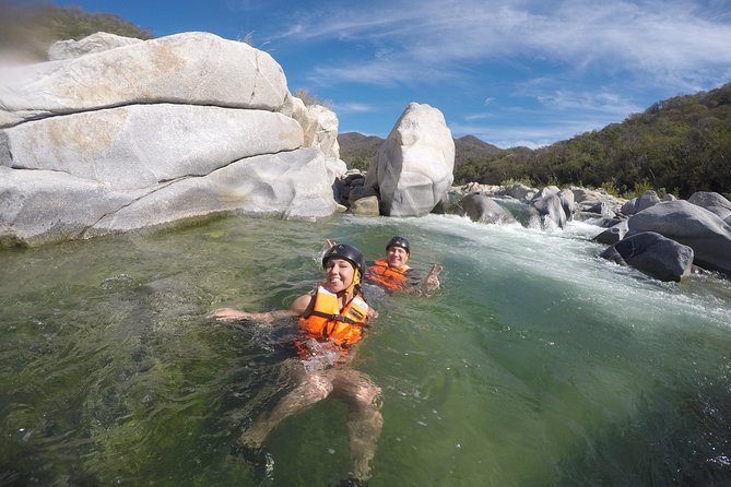 Canyoning in the Zimatán River Canyon